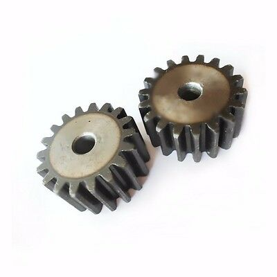 1 Mod 19T Spur Gears #45 Steel Pinion Gear Tooth Diameter 21MM Thickness 10MM