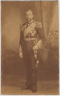 George V., King – imperial cabinet photograph signed