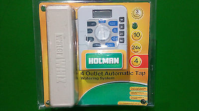 HOLMAN GARDEN WATERING SYSTEM 4 Station COMPLETE KIT free post RRP $249. Bargain