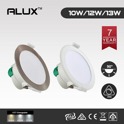 Chrome&white 10W/12W/16W Flush Face Led Downlight Kit Warm/ Daylight Dim&non Dim