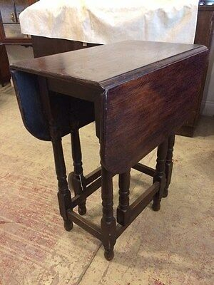 Oak Georgian Drop Leaf table C1760-1820 George III