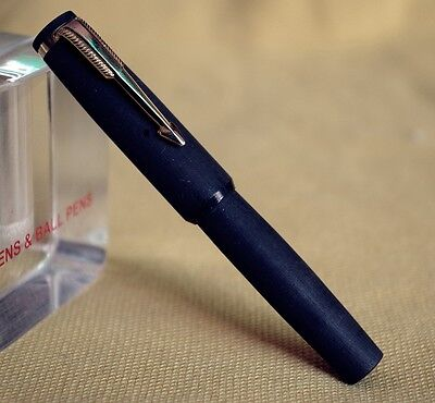 Ebonite Lilliput Kid Eyedropper Fountain Pen Just 82Mm Long (Matt Black)  )
