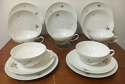 Rosenthal Germany 5 Trio Sets