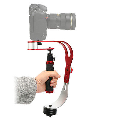 Handheld video camera stabilizer for GoPro,Smartphone,Canon,Nikon up to 2.1 lbs.