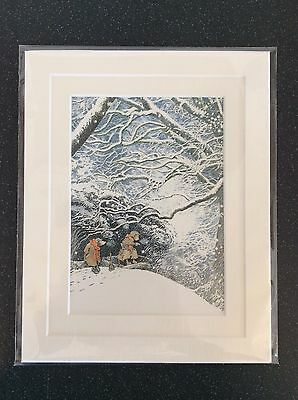 Beautiful Wind In The Willows  Print Double Mounted 8X10 Childrens Nursery Art