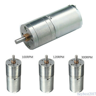 300RPM Steel 25MM 12V High Torque Gearbox Powerful motor 12v Electric Motor F110