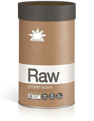 Amazonia Raw Protein Isolate Cacao & Coconut 1kg - Free Sameday Shipping