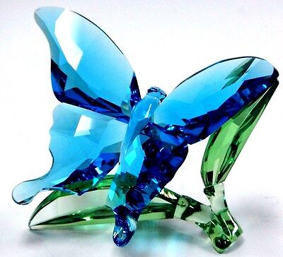 Butterfly On Leaves 2016  Leaf Swarovski Crystal #5136834