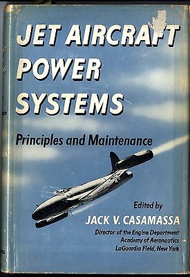 JET AIRCRAFT POWER SYSTEMS Principles and Maintance 1950 338 Seiten OLn.OU.