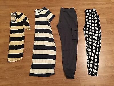 The Lot All ASOS- Maternity Clothing x4 Items Top Dress Cargo Pants Trousers