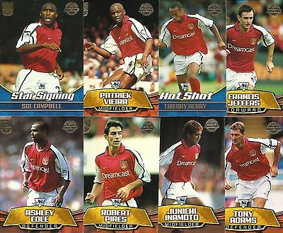 Topps Premier Gold Football cards 2002 Complete Team Base Sets RARE