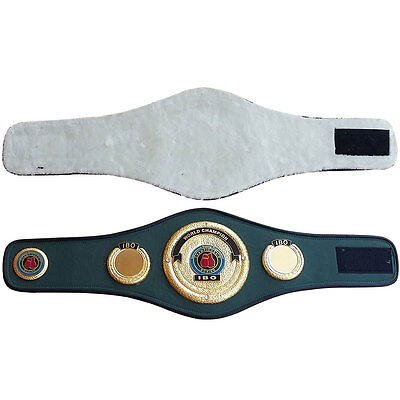 IBO Boxing Mini Championship Replica Belt Synthetic Leather
