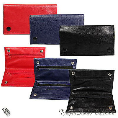 Tobacco pouch Leno bag with Leaflet dispenser, Rolling tobacco, PU LEATHER