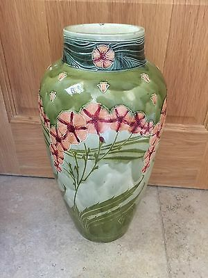 British Art Pottery MINTON SECESSIONIST Floor Vase Arts & Crafts Art Nouveau