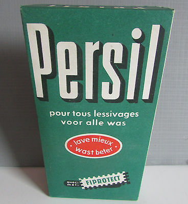 ancien paquet de lessive persil collection deco estaminet epicerie