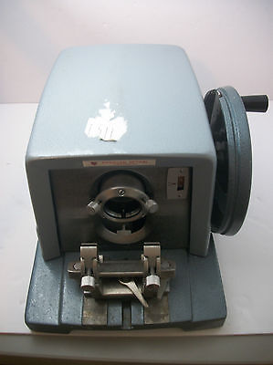 AO American Optical Spencer 820 Microtome Rotary Cutting Tool With Blade Holder