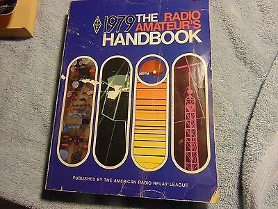 1979 RADIO AMATEUR'S HANDBOOK American Radio Relay League ARRL Ham Radio Vintage