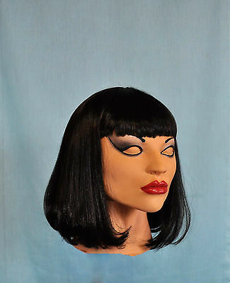 Be Female Mask Cindy SPT  Latex Rubber Masks With Wig