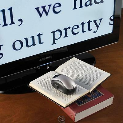 Electronic Reading Aid Wireless Page to TV Magnifier 70X Magnification Mouse FP