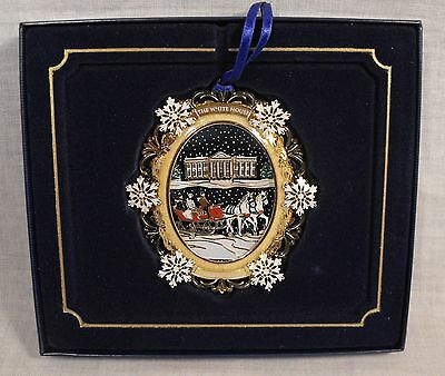 White House Historical Assoc. Christmas 2004 Ornament RUTHERFORD B HAYES