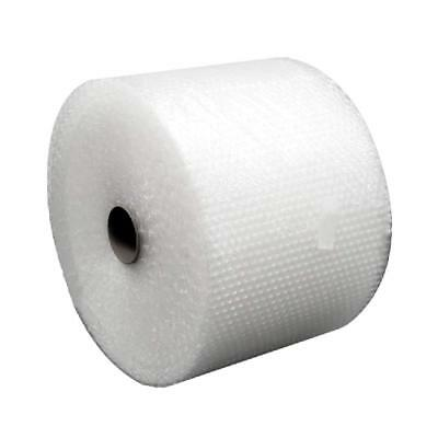 """Bubble + Wrap 1/2"""" 50 ft. x 12"""" Large Padding Perforated Shipping Moving Roll"""
