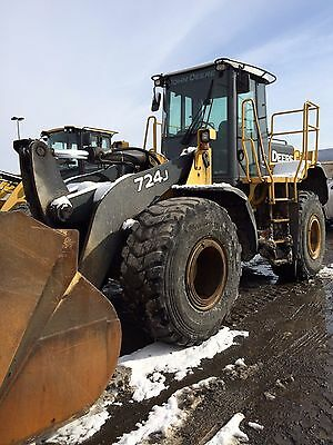John Deere 724J Wheel Loader 1 Owner!