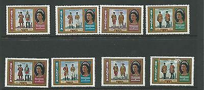 1978 25th Ann of the Coronation  SG 468 - 471 Both Perfs  Complete MUH/MNH