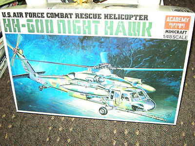1:48 Academy US Air Force Combat Rescue Helicopter Night Hawk OVP