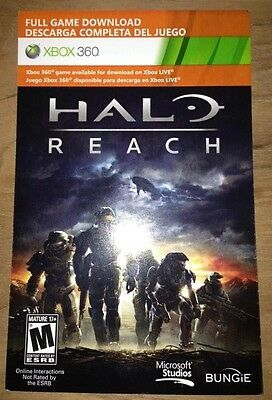 Halo Reach Full Game Download for Xbox 360 ***SENT THROUGH EBAY MESSAGES***