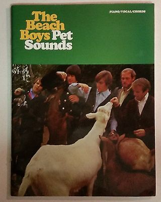 The Beach Boys Pet Sounds Songbook Piano Vocal Guitar Sheet Music Book