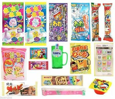 16 PIECE JAPANESE CANDY SET Popin Cookin Japanese Candy Ramune Chips Christmas