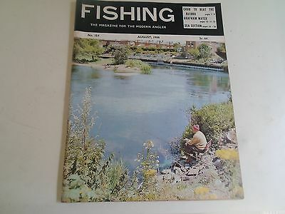 Vintage AUGUST 1966  FISHING The Magazine For The Modern Angler + Advertising
