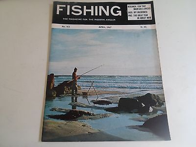 Vintage APRIL 1967  FISHING The Magazine For The Modern Angler + Advertising