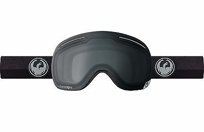 Dragon 2017 X1 Flux Black w/ Transitions Clear Snow Goggles - Free Express Post