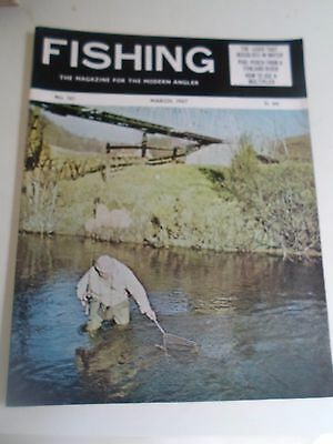 Vintage MARCH 1967  FISHING The Magazine For The Modern Angler + Advertising