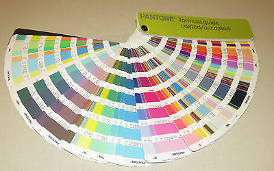 Pantone Formula Guide Coated/Uncoated, Printer 1st edition 2000-2001