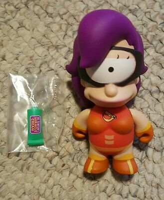 Futurama KidRobot Mini Figures Series 2 Leela Cloberella 3/20 Rarity