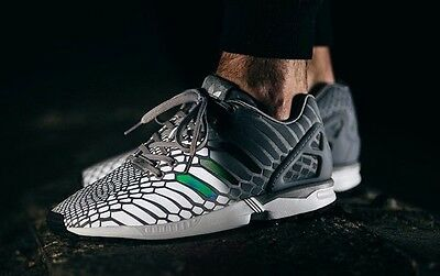 ae26be4cc8082 ADIDAS ZX FLUX Deep Forest Carbon Camouflage Men s Sneaker Shoes ...