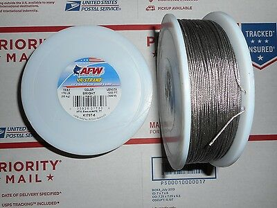 American Fishing Wire 7X7 49 Strand 175Lb 1000' Spool Stainless Steel