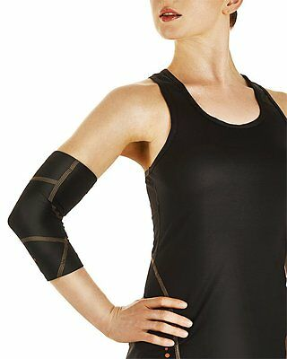 NEW Tommie Copper Women's Performance Boost Elbow Sleeve Size Large/Black