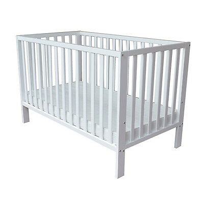 Babies R Us Finley 2-in-1 Cot - White - NEW