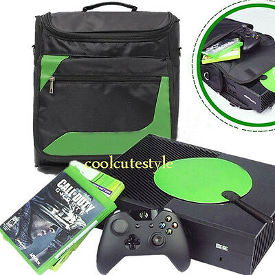 Protective Travel Carry Shoulder Bag Pack Case for Microsoft Xbox One Console