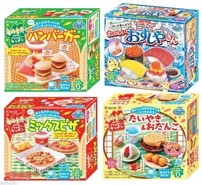KRACIE POPIN COOKIN Hamburger, Sushi,Pizza & Japanese Sweets DIY Candy Poppin
