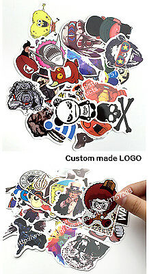 50Pieces Stickers Skateboard Sticker Graffiti Laptop Luggage Car Decals mix lot