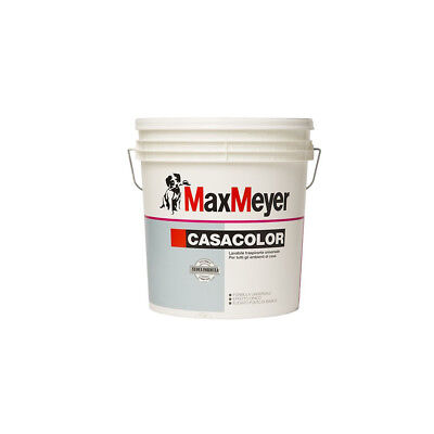 Pittura lavabile colorata per interno Casacolor 0,75lt Max Meyer colori pastello