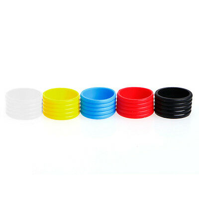 5pcs High Quality Racket Handle's Rubber Ring Tennis Racquet Band Overgrip