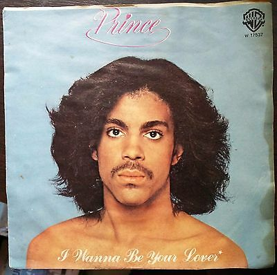 Prince ‎– I Wanna Be Your Lover 45 giri 1979 VG/EX++ Italian Issue  Rare