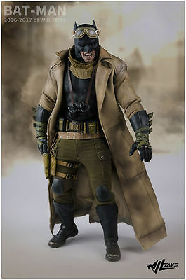 1/6 Knightmare Batman clothes set for hot toys phicen Batman v Superman In Stock