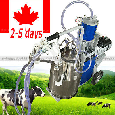 CA-25L Electric Milking Device faster milking SS Bucke for Cows Cattle-Dairy
