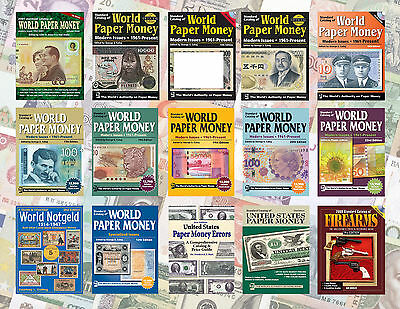Krause Paper Money World Catalogs 2016 - 14 Catalogs + Bonus On Dvd